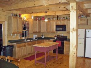 cabin kitchen remodel