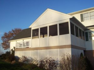 large attached sunroom in chester county