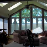 newly constructed sunroom