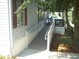custom wheelchair ramp addition
