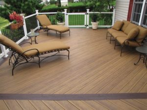 tan wooden deck in lancaster pa