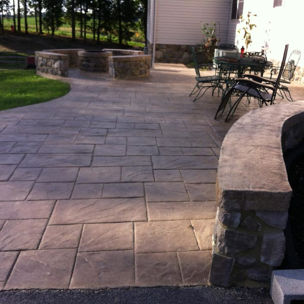 concrete patio lancaster pa