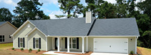 one story home with new vinyl siding